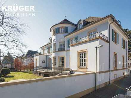 Villa Eicheneck / außergewöhnliches Wohnen in hochwertig saniertem Karlsruher Kulturdenkmal