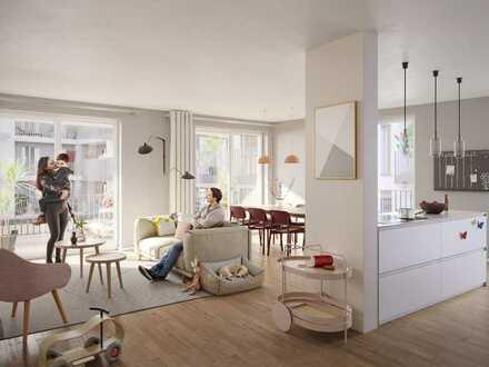 Familienleben mit allen Freiheiten: 4-Zi.-Wohnung mit Balkon und Loggia in ruhiger Umgebung