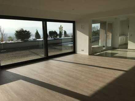 Sanierte 3,5-Zimmer-Terrassenwohnung mit großer Terrasse (100m2) und Einbauküche in Waldshut