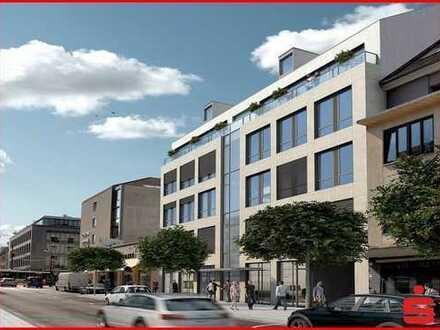Neubau 3-Zimmer Penthouse Wohnung im Zentrum von Darmstadt zur Miete