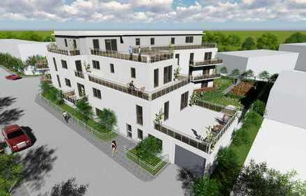 Neubau! Exklusives 4 Zi. Eckhaus mit Garten und grosser Terrasse