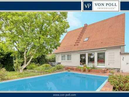 Freistehendes Einfamilienhaus in grüner Lage von Pulheim-Dansweiler