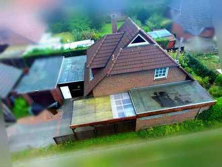Kein Sparbuch hat Terrasse mit Garten! kleines EFH nähe Bürgerfelder Teich