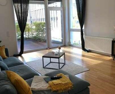 Exklusives Wohnen in der Überseestadt - 3 Zimmer mit Terrasse