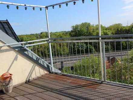 Maisontte-Wohnung im Dachgeschoss