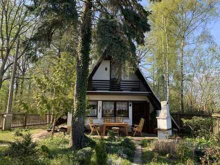 Wochenendgrundstück mit Finnhütte und Sauna