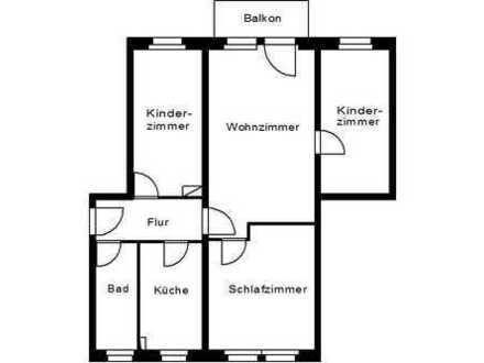 4-Raumwohnung im Plauener Sueden!