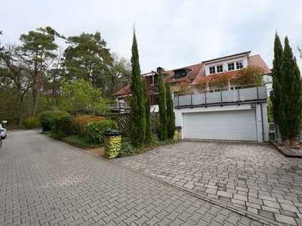 SCHWIND IMMOBILIEN - exklusive Gartenwohnung in ruhiger Waldrandlage