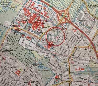 Gepflegte 3-Zimmer-Wohnung im Staffelgeschoß in begehrter Lage nahe der Universität Bremen