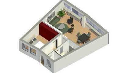 2-R.-Whng. mit Designerküche