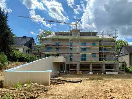 Neubau-Erstbezug! 3-Zimmerwohnung im Erdgeschoss mit großem Balkon!