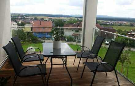 NEU! Exclusive 3,5-Zimmer-Wohnung mit Blick über Schwandorf