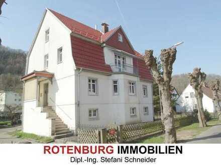 Erstbezug: 3,5-Zimmer-Wohnung im 1.OG einer sanierten Altbauvilla in Rotenburg