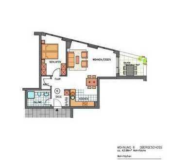 Stilvolle, neuwertige 2-Zimmer-Wohnung mit Balkon in Waldenbuch