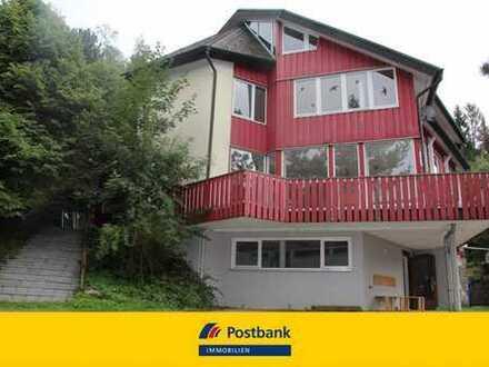 GROSS, GRÖSSER... Architektenhaus mit großem Grundstück, als Gewerbe oder Wohnraum nutzbar