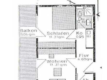Schöne 2-Zimmer-Wohnung mit EBK und Balkon in Denzlingen