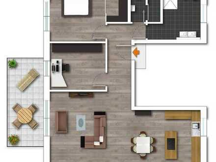 Neubau- moderne Wohnung in schöner Lage von Bergerhausen
