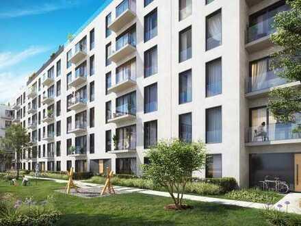 Barrierefreies Wohnen mitten in Berlin! Hochwertige 2-Zimmer-Wohnung mit Terrasse