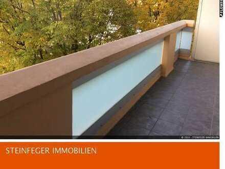 Frankfurt/Eckenheim: Helle 3/3,5 Zimmer Wohnung zentral und dennoch ruhig gelegen – sofort frei