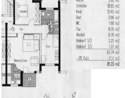 Exklusive, gepflegte 2,5-Zimmer-Wohnung mit Balkon und EBK in Deidesheim