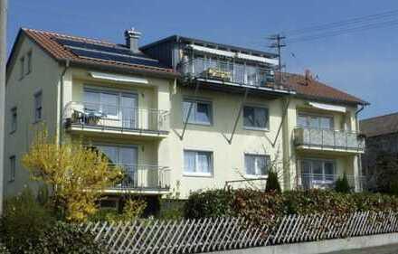 Gepflegte 2-Zimmer-Wohnung mit Balkon und EBK in Nattheim
