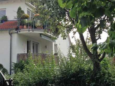 Ruhige Wohnung mit guter Ausstattung und schöner Aussicht