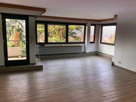 Exklusive, geräumige und modernisierte 4-Zimmer-Wohnung mit Balkon in Weinheim