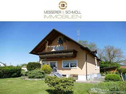 Gepflegtes Zweifamilienhaus auf Sonnengrund mit vielen Nutzungsmöglichkeiten nahe Regensburg