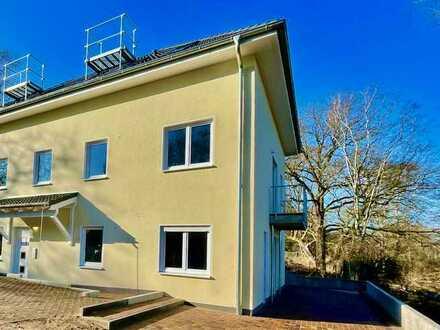 Barrierefreier Neubau in Glienicke mit freiem Blick ins Naturschutzgebiet