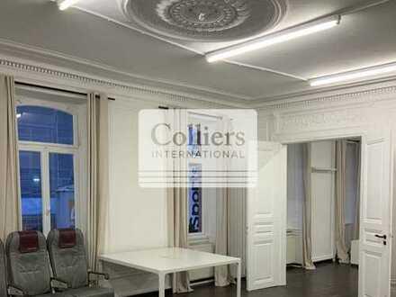 Geschmackvolle Bürofläche im Stilaltbau