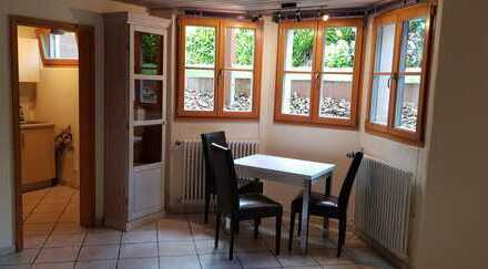 Sehr ruhige und helle Ein-Zimmer-Wohnung, 7km nördl. v. Freiburg