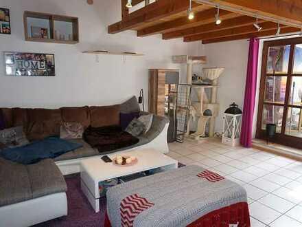 Wohnen mal etwas anders! 2,5 Zimmerwohnung mit 2 Dachterrassen im Herzen von Oberammergau
