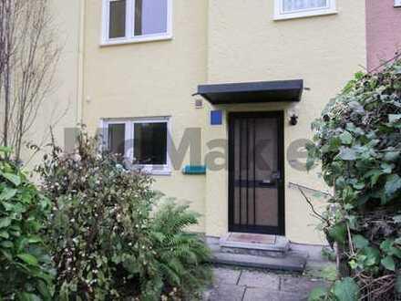 Obergiesing-Fasangarten: 7-Zimmer-Reihenmittelhaus mit Garten und Garage