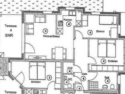 Schicke 3 Zimmer Wohnung 77m² Erstbezug W4