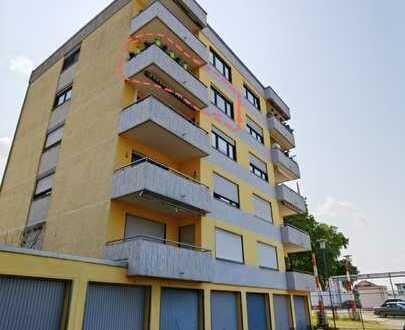Modernisierte 3-Zimmer-Wohnung mit Balkon, Einbauküche und Garage in Worms