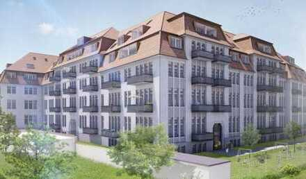 * großzügige und modern ausgestatte Wohnung mit Balkon und Garten *