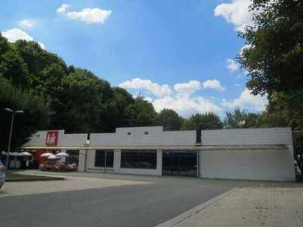 KLASSE- GEWERBE- IMMOBILIE ca. 1.800 m² - 1- geschossig- (teilvermietet-li. an KIK) NÄHE SÜDINSEL