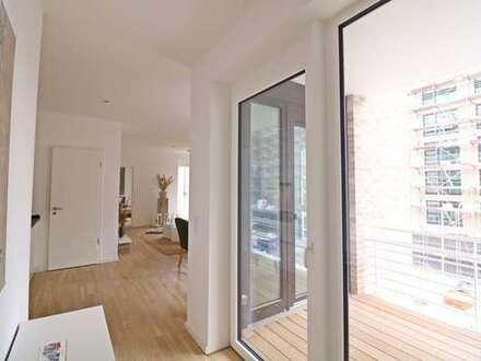 Lichtdurchflutete Neubauwohnung - 2 Zimmer