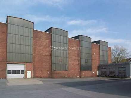 3.440 m² Halle (teilbar) | ebenerdig | Kranbahnen | Freifläche