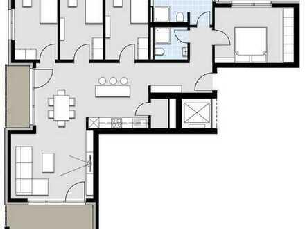 große 5 Zimmer Wohnung im 1. OG
