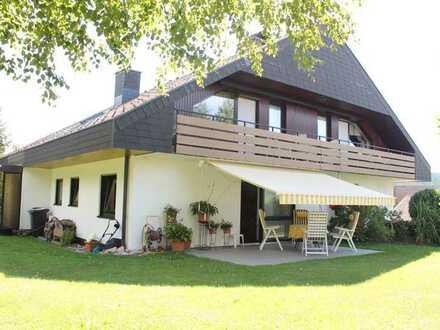 Großzügige 7-Zimmer-Wohnung mit Südbalkon und Gartenanteil in Schluchsee