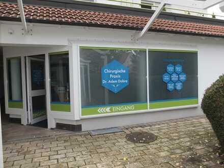Große Praxisräume - Bürofläche zu vermieten, ZENTRUM Bad Wörishofen mit großen Schaufenstern