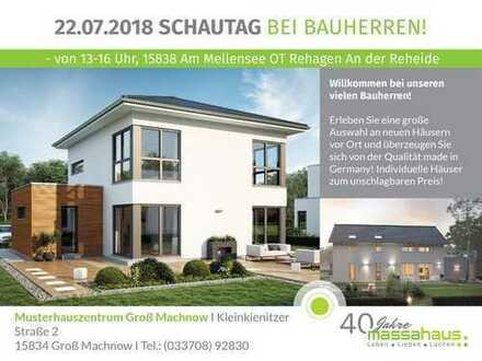 BAUSTELLENFEST!!! Unsere Bauherren laden Sie in Ihre Häuser ein!