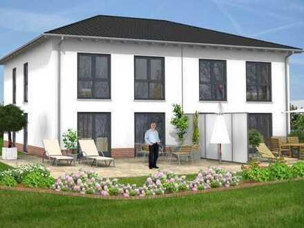 Stilvolle Neubau Doppelhaushälfte in exzellenter Lage