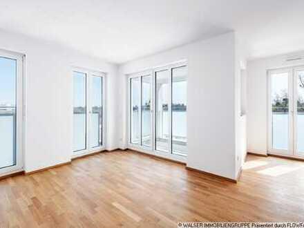 WALSER: Sofort beziehbar: 3-Zimmer-Neubauwohnung im 7. Obergeschoß in Allach!