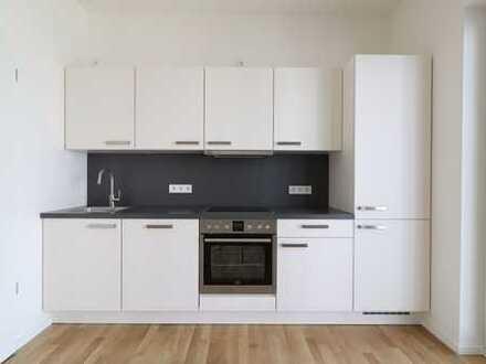 Ihr neuer Lieblingsort - moderne Zweiraumwohnung auf 65 qm, EBK, Balkon und Loggia zum Erstbezug