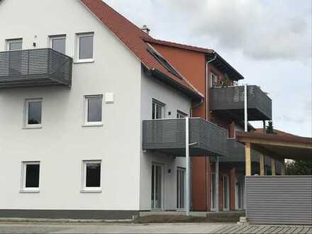 Erstbezug: stilvolle 2-Zimmer-EG-Wohnung mit EBK und Balkon in Gunzenhausen