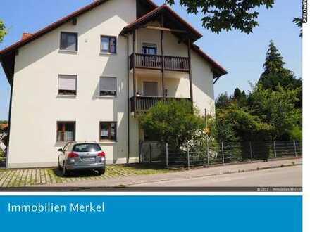 ++ 2-Zimmer-DG-Wohnung mit Balkon und Garage ++
