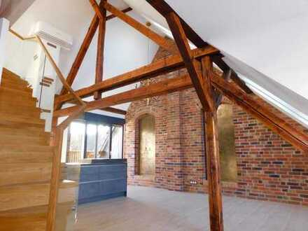 LAMDA an der Limmer Schleuse - Luxuriöse Dachgeschoss-Wohnung mit Galerie!!!