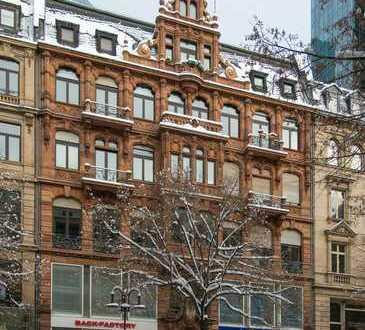 Stilvolle, gepflegte 3-Zimmer-Wohnung mit Balkon in Frankfurt am Main
